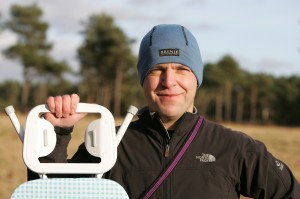 Steam, extreme ironing founder